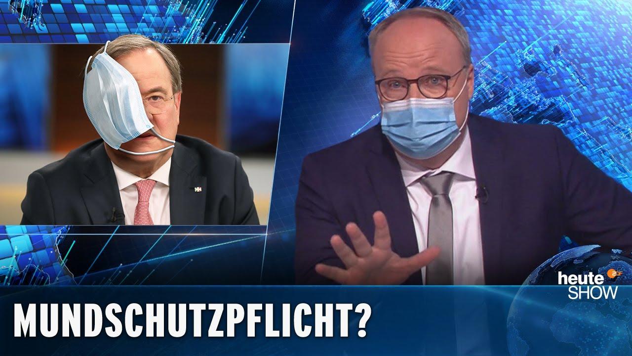 Coronavirus: Braucht Deutschland eine Mundschutzpflicht? | heute-show vom 03.04.2020