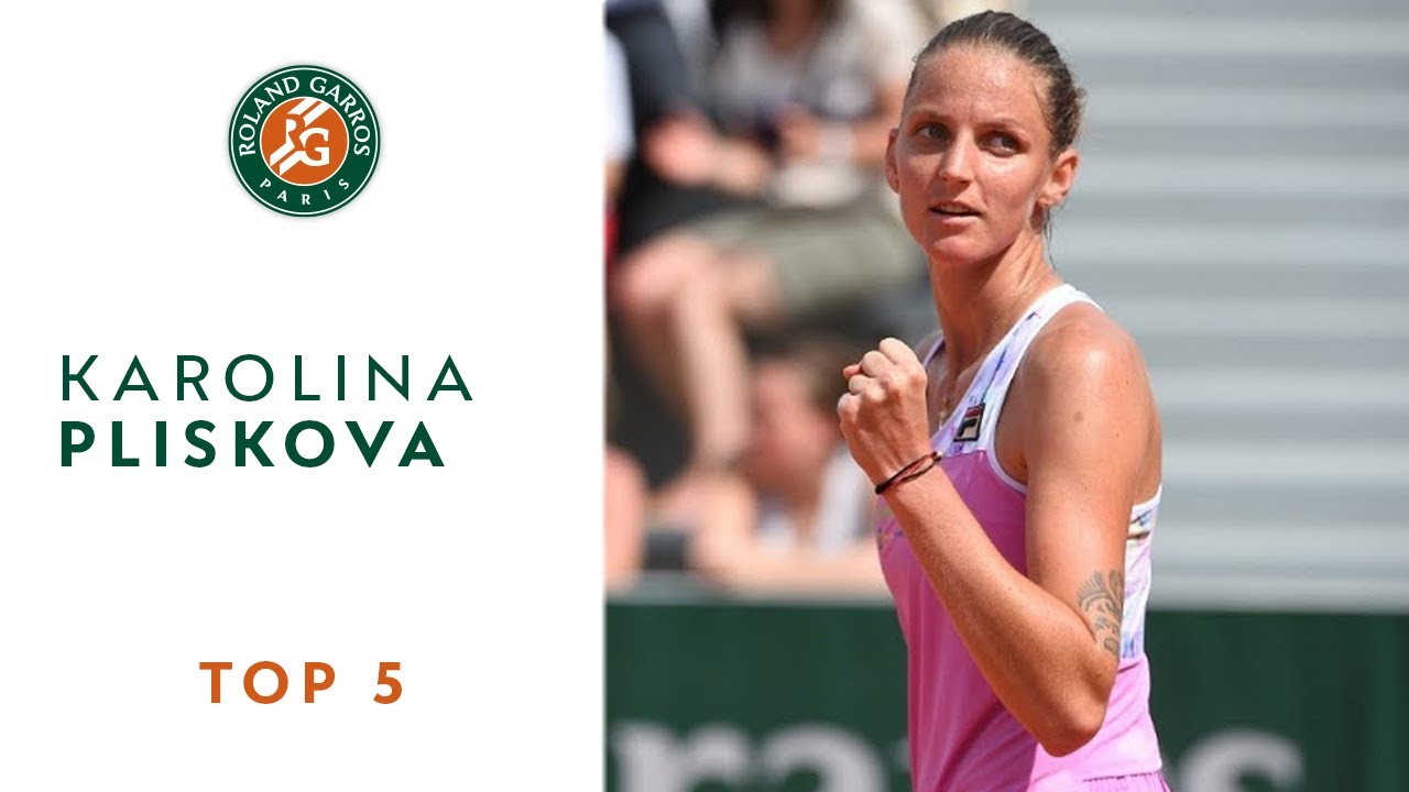 Karolina Pliskova - TOP 5 | Roland Garros 2018