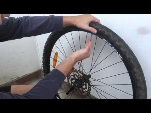 Как снять покрышку и заменить камеру на велосипеде