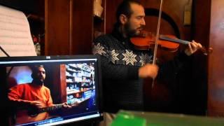 The Last of The Mohicans - Promentory - Violin & Guitar Cover