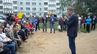 Алексей Навальный на встрече с жителями Костромы
