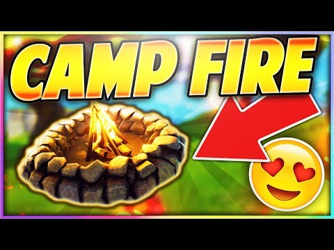 NEW COZY CAMPFIRE UPDATE in FORTNITE: BATTLE ROYALE!