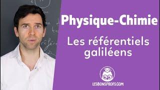 Les référentiels galiléens - Physique-Chimie - Terminale - Les Bons Profs