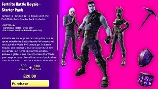 How To Get DARK REFLECTIONS BUNDLE (RELEASE DATE) Fortnite NEW Legends Starter Pack 9 RELEASE DATE