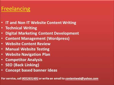 Hire Freelance Content Writer   Website Content Developer   Digital Marketing Content Creation