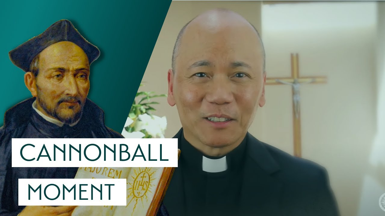 Fr. Radmar Jao, S.J. tells us about St. Ignatius of Loyola's cannonball moment. This led to many more moments of transformation and conversion in the life of St. Ignatius Loyola.