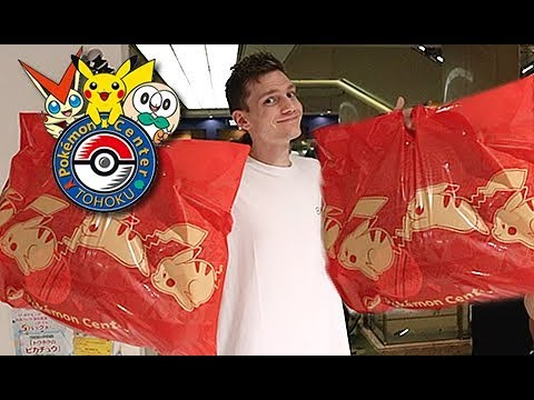 I Spent 50,000 At The Pokemon Center...