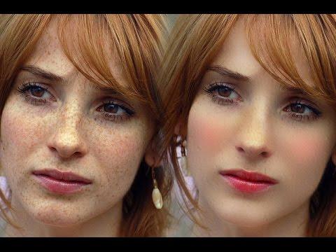 Photoshop: Skin Retouching Photoshop Tutorial