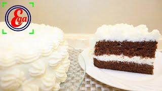 Изумительно нежный и сочный торт Праздничный с кремом из творожного сыра