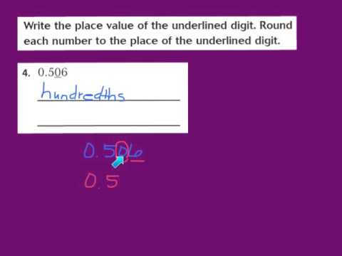 Math homework help rounding decimals