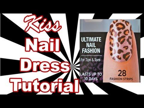 Kiss Ultimate Nail Fashion Strips Tutorial | Influenster | Love VoxBox