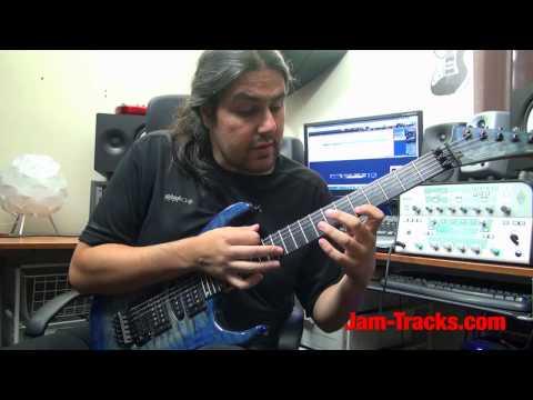 Eddie Van Halen Style Licks Part1   Lick Of The Week 126