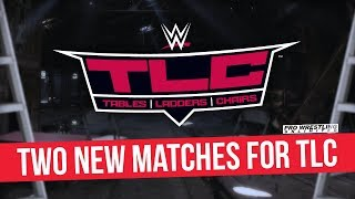 Two New Matches Made Official For WWE TLC