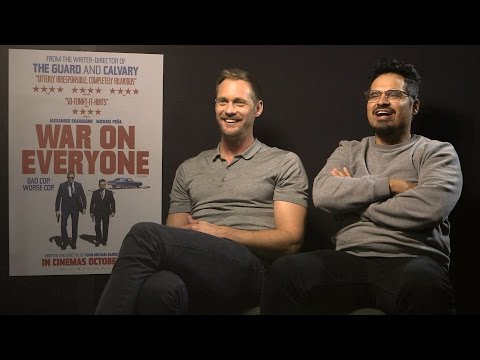 Alexander Skarsgard & Michael Pena are about to make War On Everyone