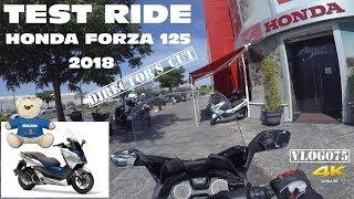 Test Ride - Honda Forza 125 (2018) - VLOG075 [4K] -Director's Cut