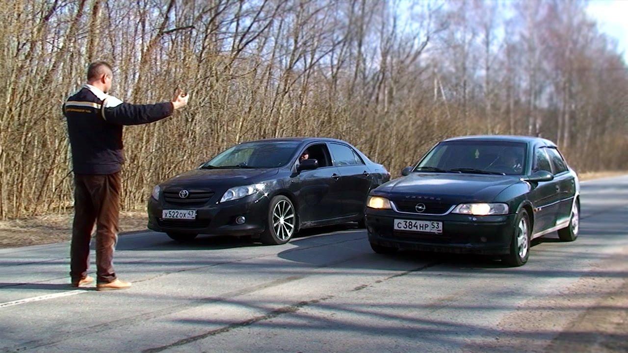 Toyota Corolla E150 vs Opel Vectra B