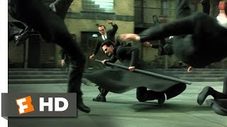 The Matrix Reloaded (2/6) Movie CLIP - The Burly Brawl (2003) HD