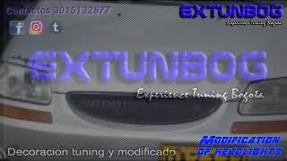 Chevrolet AVEO Family modificacion de farola por EXTUNBOG смотреть