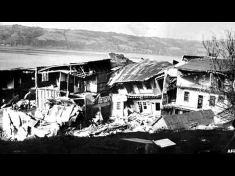A força do maior terremoto já registrado na Terra
