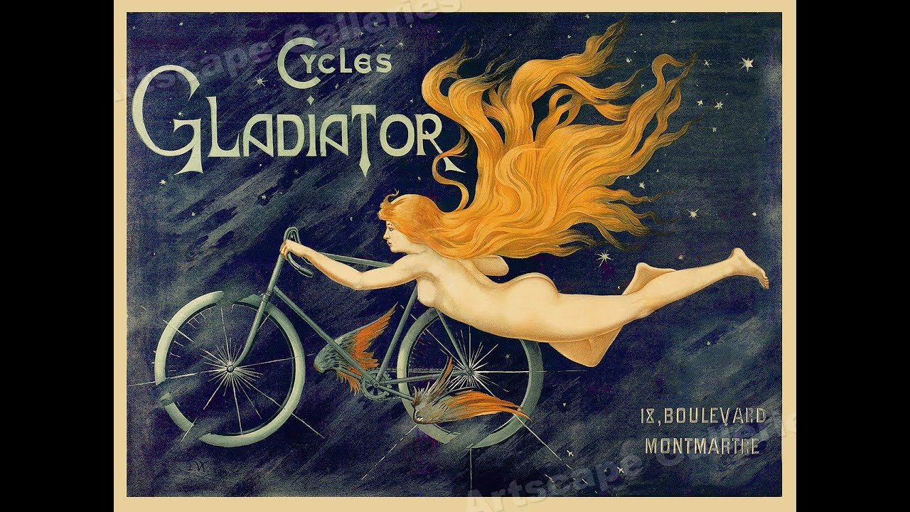 100 Art Nouveau Posters and Advertising - YouTube