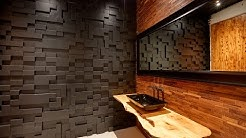 Installation of 3D decorative panels