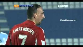Very Funny- Ribery  takes the adversary to take a walk