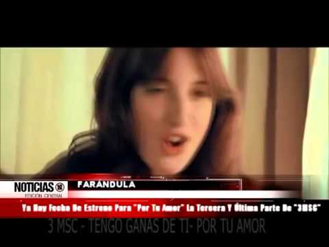 Tengo ganas de ti 3MSC - letra from YouTube · Duration:  4 minutes 44 seconds