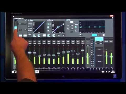 StudioLive RM Series Launch Demonstration