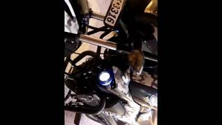 Modified honda CB Trigger 150