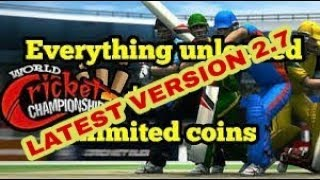 WCC 2 latest version mod apk full unlocked and unlimited money 😱😱 by ABHISK PRATAP singh