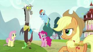 Mane 6 recall the snake joke - What About Discord?