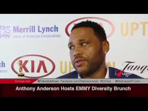 Anthony Anderson Hosts EMMY Diversity Brunch