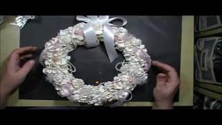Shabby Chic Christmas Wreath with Cynthialoowho♥