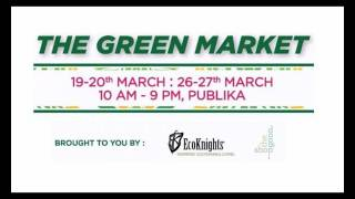 The Green Market Promotes Responsible Consumerism with 64 Green Businesses and NGOs