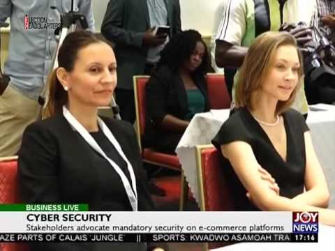 Cyber Security - Business Live on Joy News (27-10-16)
