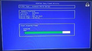 видео Как обновить BIOS на ноутбуке ASUS