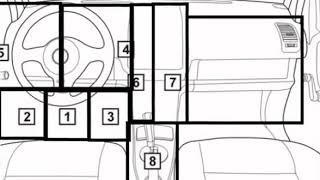 Chrysler Stratus  1995 95 Diagnostic Obd Port Connector Socket Location Obd2 Dlc Data Link 248
