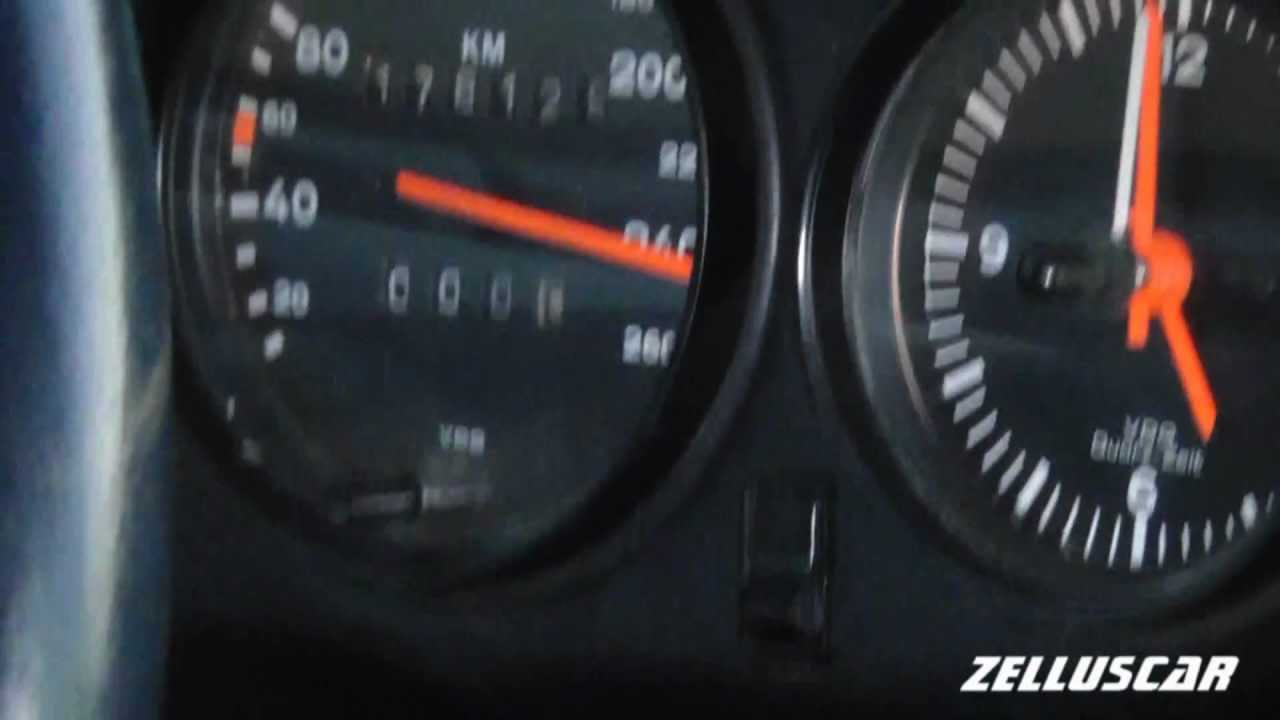 Inside Porsche Carrera 3.2 Top Speed 250 km/h !! - YouTube
