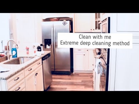 Clean With Me; Weekly Cleaning Routine,  Extreme Speed Cleaning