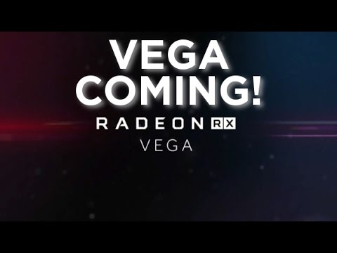Vega and RX 500 Coming Soon!