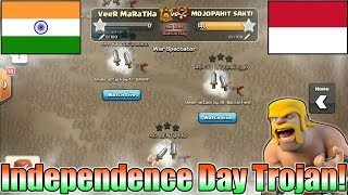 Independence Day🇮🇳Special Trojan War | India Vs Indonesia | Last 10Min 100 Attacks