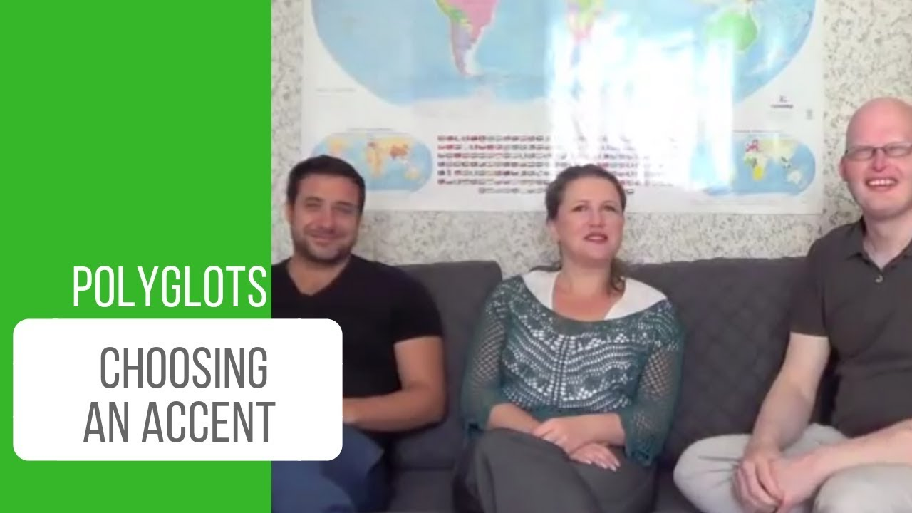 luca richard and susanna talk about choosing an accent in a foreign