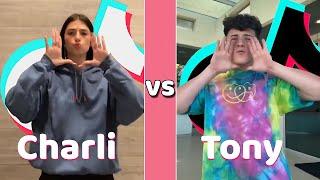 Charli D'amelio Vs Tony Lopez TikTok Dances Compilation (July 2020)