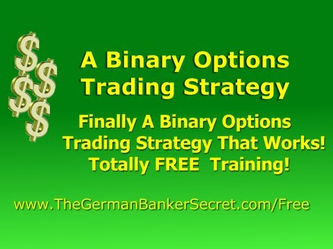Binary options trading strategy free
