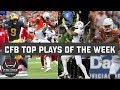Top 10 plays of college football Week 4   ESPN