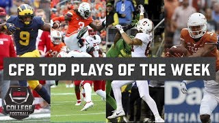 Top 10 plays of college football Week 4 | ESPN