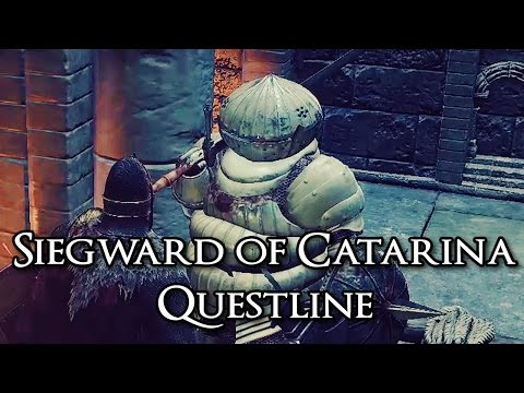 Dark Souls 3 Siegward of Catarina Questline + Armor [1080p HD]