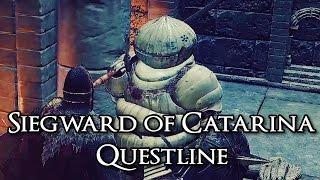 Dark Souls 3 Siegward of Catarina Questline + Armor [1080p HD]