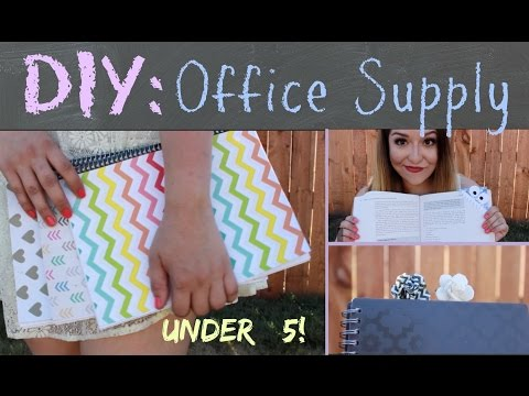 Back to School DIY| Office Supply