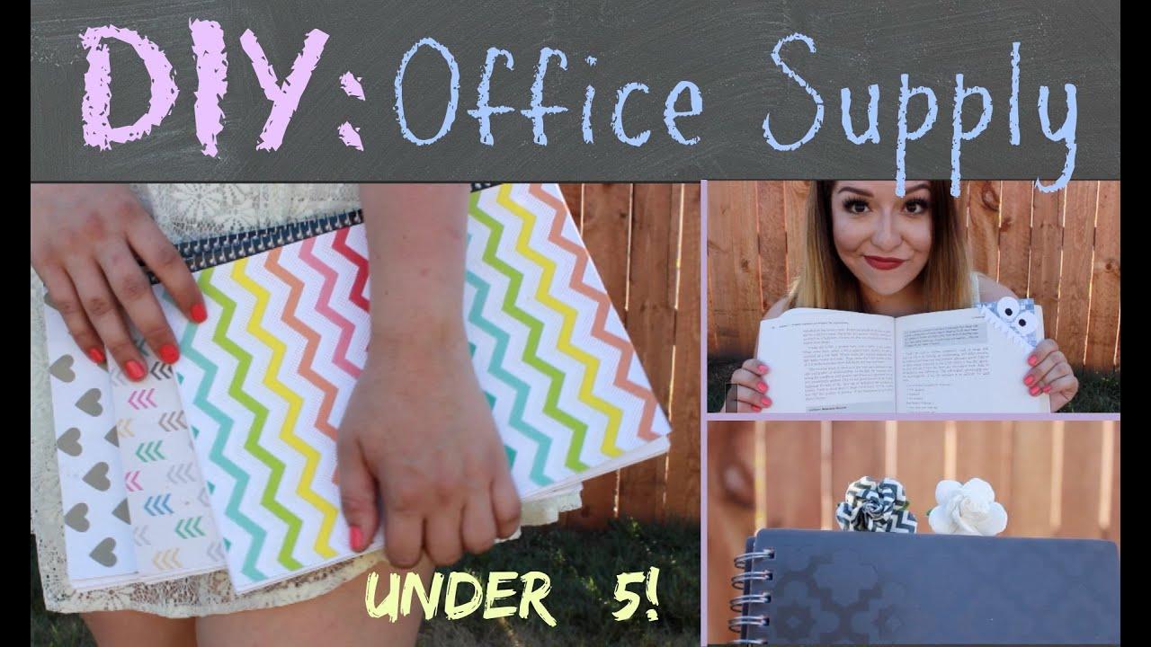 diy office supplies. diy office supplies